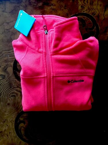 Womens Medium Jacket Colombia Fleece Size fYZqf