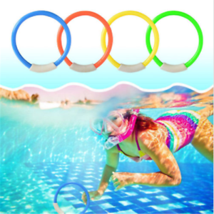 Details about Children Underwater Diving Rings Water Play Toys Swimming  Pool Accessory Random