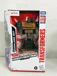 Transformers Sparkless Bot Netflix War for Cybertron Hasbro Action Figure - NEW