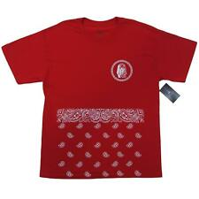 Last Kings Red Paisley T-Shirt