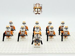 Star-Wars-Commander-Cody-212th-Clones-Army-Set-11-Minifigures-Lot-USA-SELLER