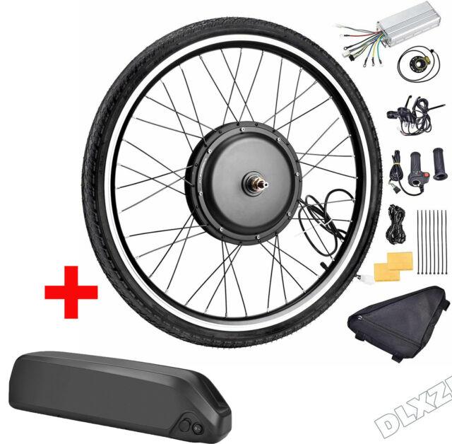 "26/""1000W/&1500W 48V Electric Bicycle Rear Wheel Ebike Hub Motor Conversion Kit"