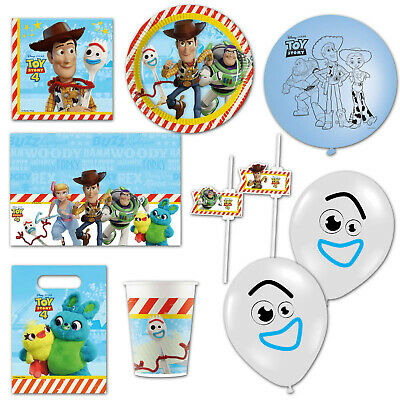 Pack of 8 Disney Pixar Toy Story 4 Paper Plates Party Tableware 23 cm