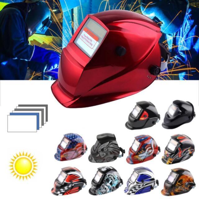 Solar Auto Darkening Welding Helmet Tig Mask Grinding Welder Mask Soldering*K