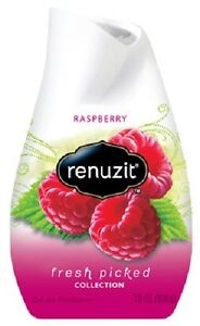 Dial, Renuzit, 6 Pack, 7 OZ, Adjustable Solid Air Freshener, Raspberry Scent