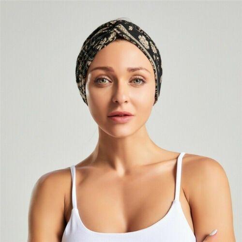 2-teilig Böhmisch Damen Haarband Druck Kreuz Stirnbänder Kopfverpackung Haar