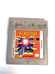 Wordtris ORIGINAL NINTENDO GAMEBOY GAME Tested WORKING Authentic