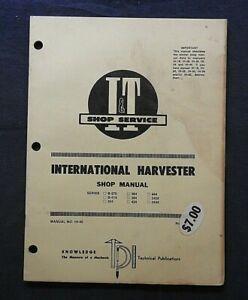 INTERNATIONAL HARVESTER B-275 354 364 384 424 444 2424 2444 TRACTOR I & T MANUAL