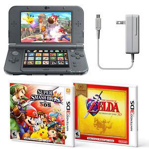 New-Nintendo-3DS-XL-Handheld-System-Super-Smash-Bros-and-Zelda-Ocarina-Bundle