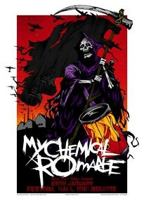 My-Chemical-Romance-Melbourne-07-Limited-Edition-Concert-Poster-Art-Rhys-Cooper