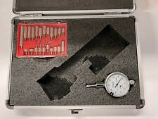 Fowler 52 585 310 Dial Indicator With Contact Point Set 0 250 Range 001