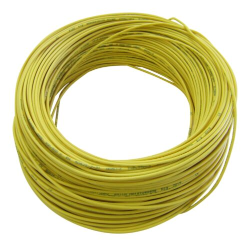 Flexible FLRy 1,0mm² 20m Gelb M in Germany 0,32€//m KFZ LKW Kabel Litze Leitung