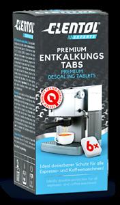 Entkalkungstabletten 6 Stck. CLENTOL EXPERTS Premium Entkalkungs-Tabs
