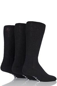 Mens-3-Pair-Iomi-Footnurse-Gentle-Grip-Diabetic-Socks