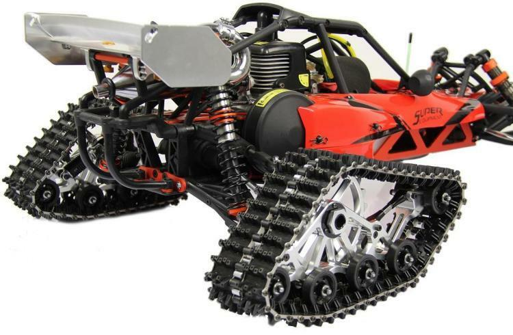 completare Snowmobile & Semobile Conversion Kit for Baja  5B 5T HPI KM Rovan  garantito