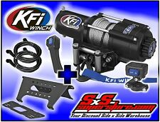 4500 lb KFI Winch Combo Polaris Ranger Full Size 2013-17+ XP900 XP 900 Crew