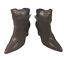 thumbnail 2 - Womens Ladies Coffee Faux Leather High Wedge Heel Shoes Ankle Boots Size 8 New