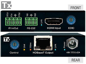 Key Digital 4K POH HDBaseT HDMI Extenders TX//RX KIT