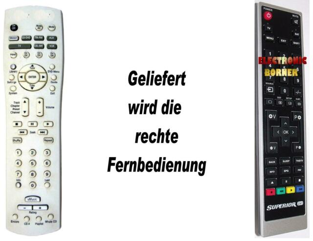 Ersatz Fernbedienung passend für Philips RC2813903//01 RC2813903 NEU!