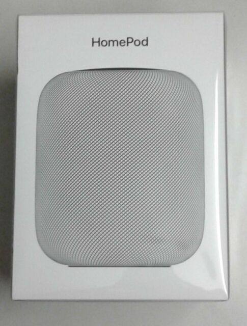 Apple HomePod Bluetooth Wifi Speaker New FACTORY SEAL Warranty Digital Streamer