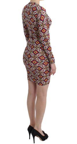Ferre multicolore Gf ᄄᄂ Avec Robe viscose Nouveau ᄄᆭtiquette Gianfranco manches longues en QrxBodCWEe