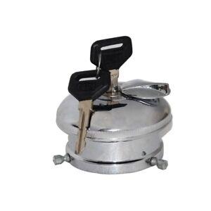 Petrol Fuel Tank Cap & Adaptor With Two Keys Set Ambassador Car ECs