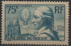 France-Y-et-T-No-313-neuf-034-Pilatre-de-Rozier-034