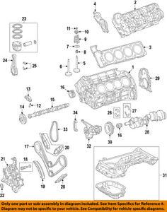 [DIAGRAM_38EU]  MERCEDES OEM 10-12 GLK350-Engine Valve Springs 2720530920 | eBay | Glk 350 Engine Diagram |  | eBay