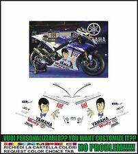 kit adesivi stickers compatibili r1 r6 moto gp m1 2009 lupin |||