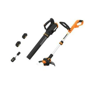 WORX-WG929-20V-Cordless-Trimmer-and-Blower-WG162-9-WG547-9
