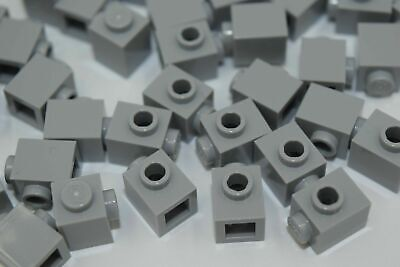 modular 1 Knob ID 87087//4558953 50 NEW LEGO Medium Stone Grey Bricks 1X1 W
