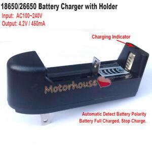 3-7V-Lithium-Li-ion-18650-26650-Battery-Charger-Holder-AC110V-220V-to-4-2V-450mA