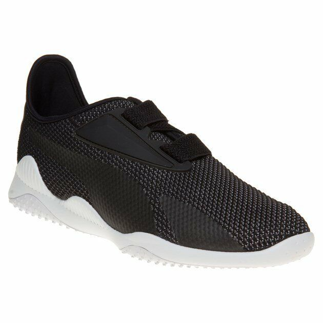 New New New MENS PUMA BLACK MOSTRO BREATHE TEXTILE Sneakers 35a34b