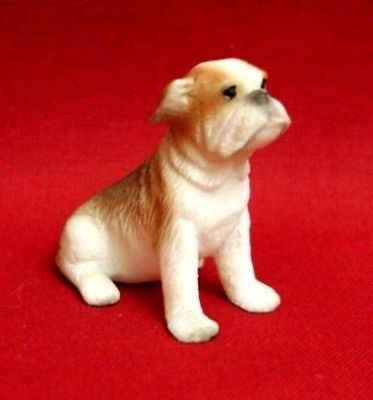 Dollhouse Miniature Boxer Puppy Dog