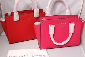 MICHAEL Michael Kors Selma Medium Satchel - Bag - Ultra Pink or ... 98bae9646e3