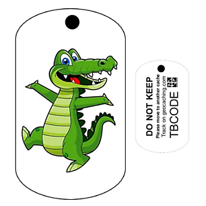 Details about Alf the Alligator (Travel Bug) For Geocaching - Trackable Tag  - Unactivated