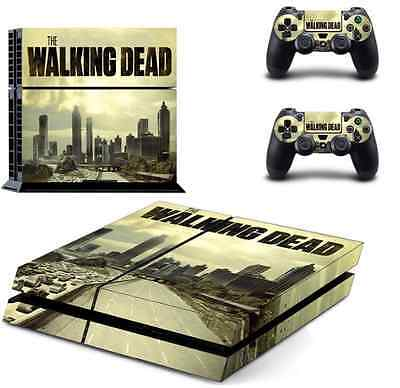 Video Game Accessories 2 Controllers The Walking Dead Ps4 Skin Sticker Cover For Playstation 4 Console