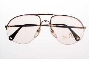 NEU-Vintage-Brille-ETIENNE-AIGNER-Brillengestell-Frame-Pilotenbrill-Lunettes-Rar