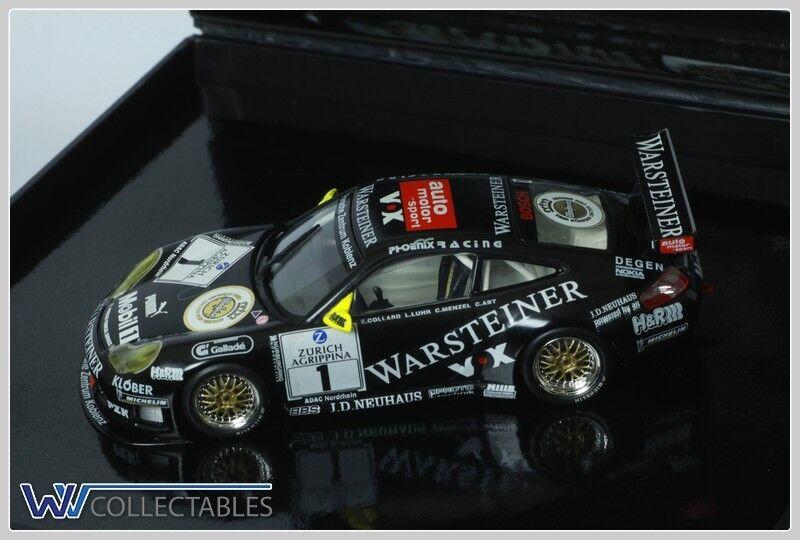 PORSCHE 996 gt3 R pzk Warsteiner 488/1000 Minichamps