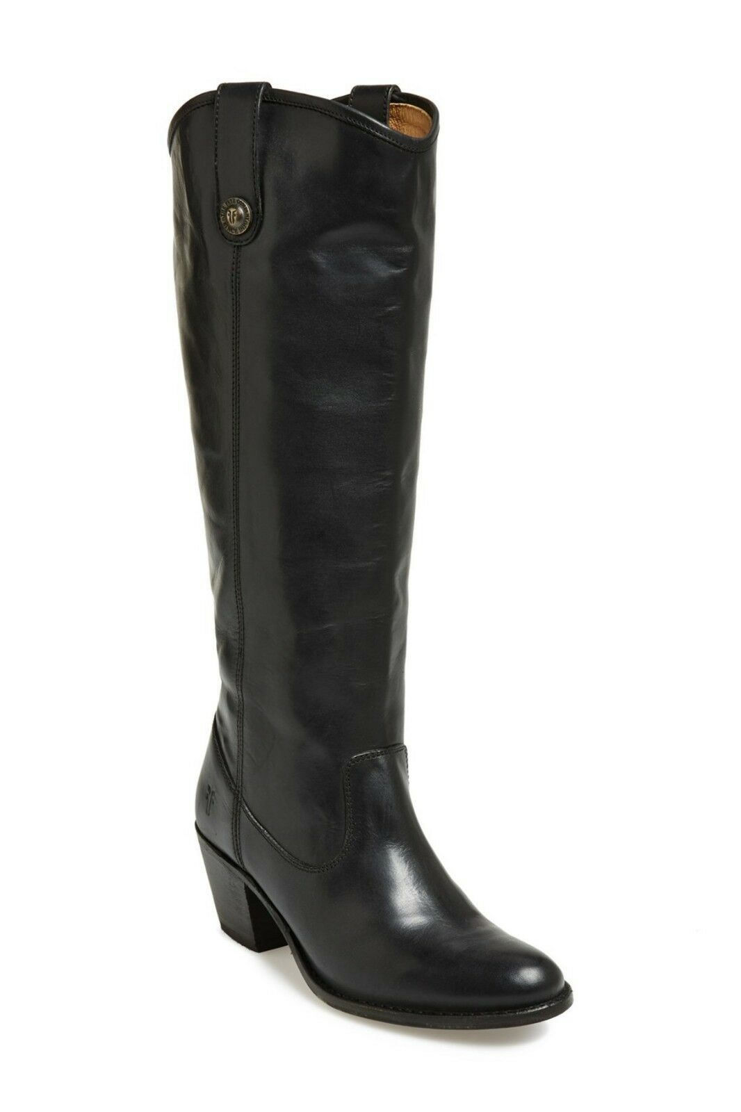 400+ FRYE Jackie Button Boot VINTAGE CLASSIC QUALITY BLACK EXTENDED 8.5 (K2)