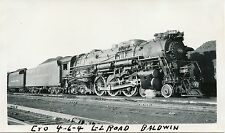 6A864 RP 1940/50s C&O CHESAPEAKE & OHIO RAILROAD ENGINE #304 CINCINNATI OHIO