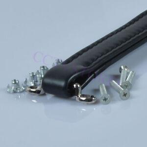 Black-Vintage-Leather-Handle-For-Guitar-Tube-Amplifier-Audio-HIFI-AMP-DIY-New