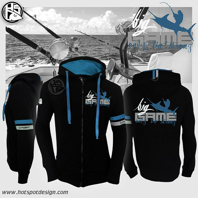 Hotspot Design Sweat BIG game- Kapuzenpullover, Zipp-Sweater, Kapuzenpullover, game- Hoody 1a2356