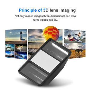 Details about Universal 3D Mobile Phone Lens Mini Photograph Stereo Vision  Camera External LJ