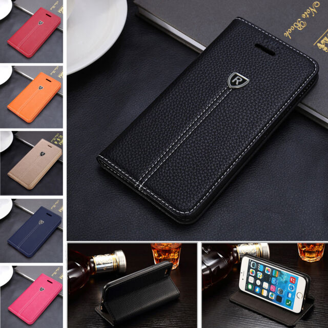 New Luxury Magnetic Leather Wallet Flip Case Cover For Various Smart Phones