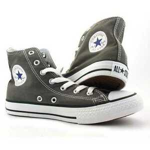 200e53e9596b67 Image is loading Converse-Chuck-Taylor-All-Star-Charcoal-Unisex-Hi-
