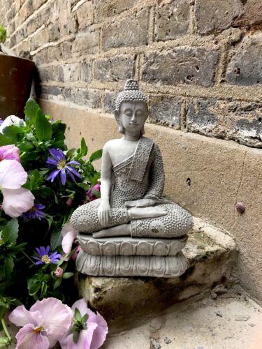 da sius Splendidamente dettagliate Meditazione Buddha Statua per la casa o in giardino