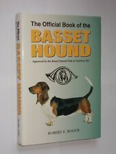 Robert E. Booth The Official Book Of The Basset Hound HB/DJ T.F.H. Publication.