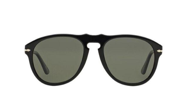 bf29ef5d74c NWT Persol Sunglasses PO 649 95 31 Black   Crystal Green 52 mm PO0649 9531