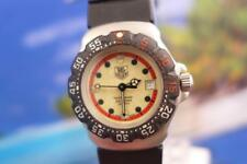 Vintage, Tag Heuer Formula 1 Ladies Luminous Dial, Black Bezel  Sport Watch 31mm